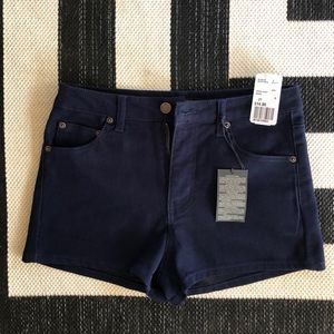 Size 27 Blue Shorts from Forever 21